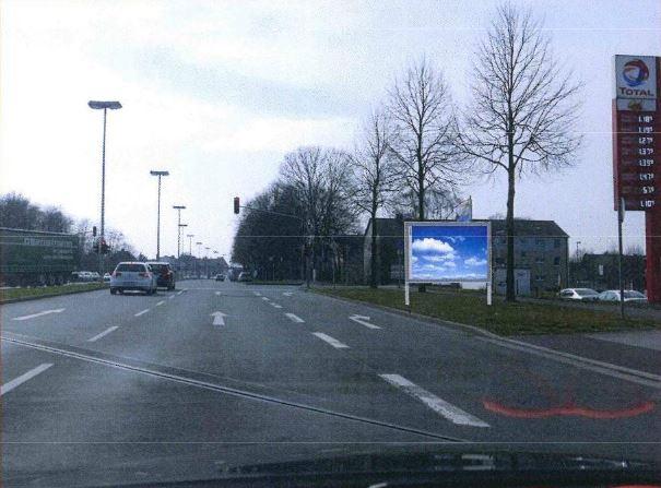 Weststr. - Ophauserstr Tankstelle